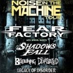 Fear Factory — Argentina 26/04/2012 Teatro Vorterix. Речарджер вживую