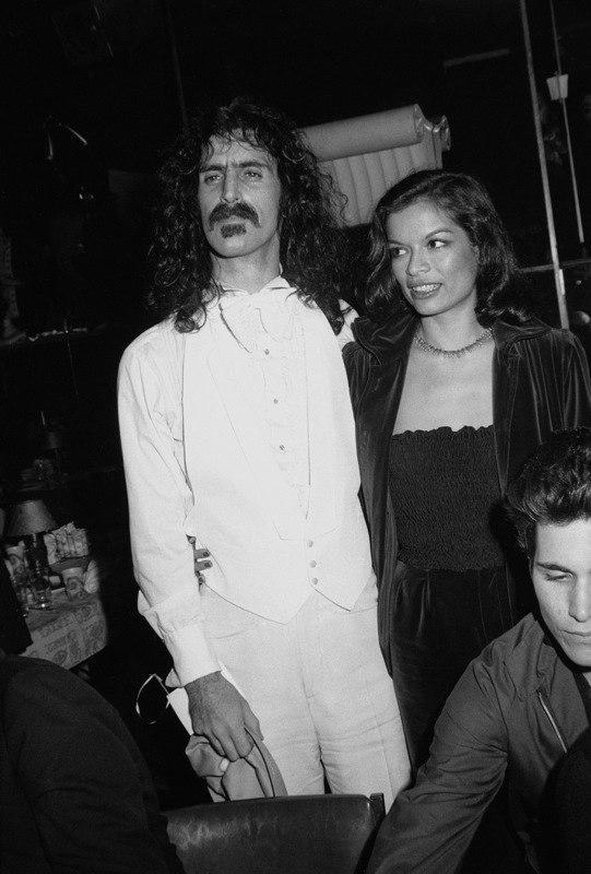 Frank Zappa Bianka Jagger