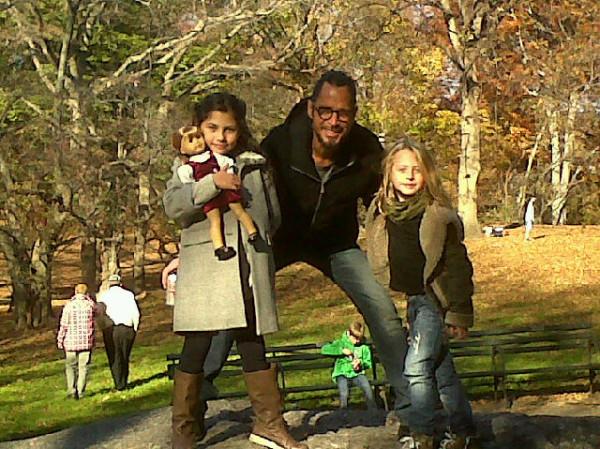 Крис Корнелл с семьёй