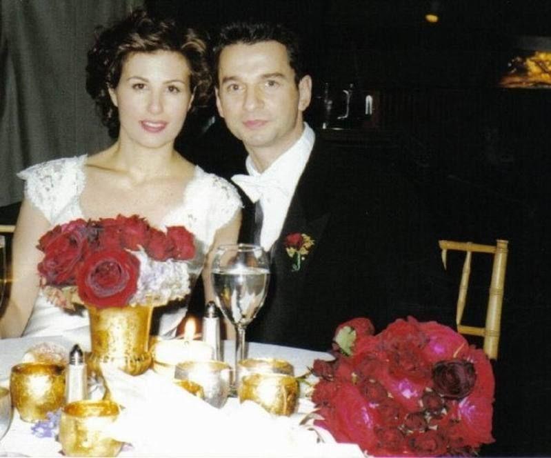 Дейв с супругой