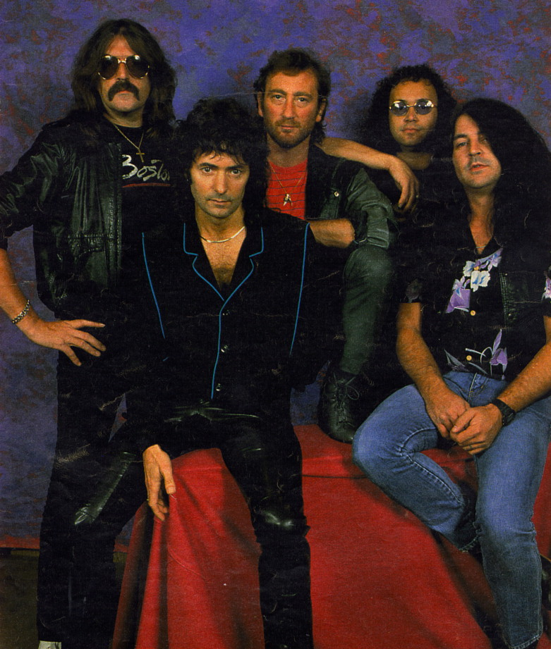 Законный реюнион Deep Purple, 1984