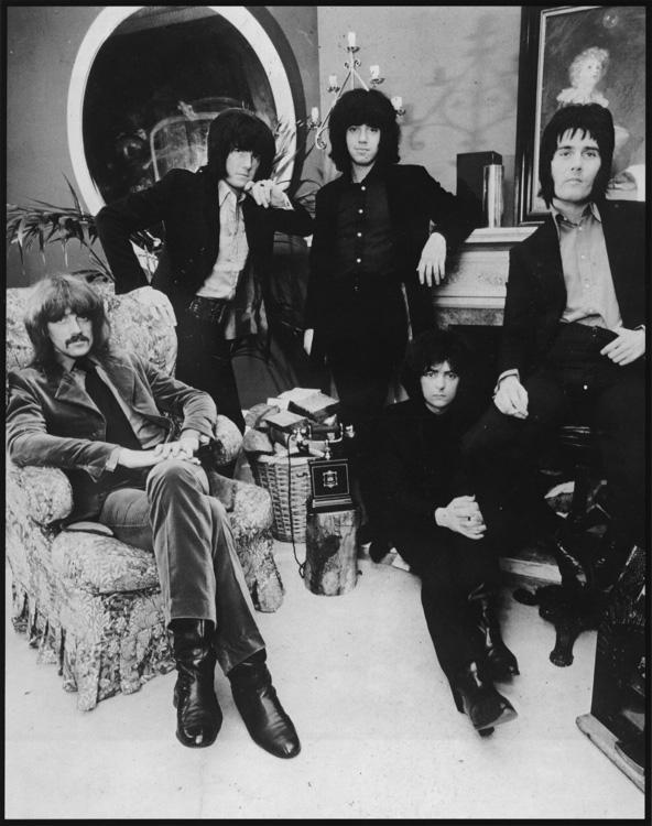 Deep Purple. Mk.I: Rod Evans / Jon Lord / Ritchie Blackmore  Nick Simper / Ian Paice